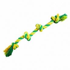 Uzel HipHop bavlněný 4 knoty 60 cm / 340 g  limetková, zelená