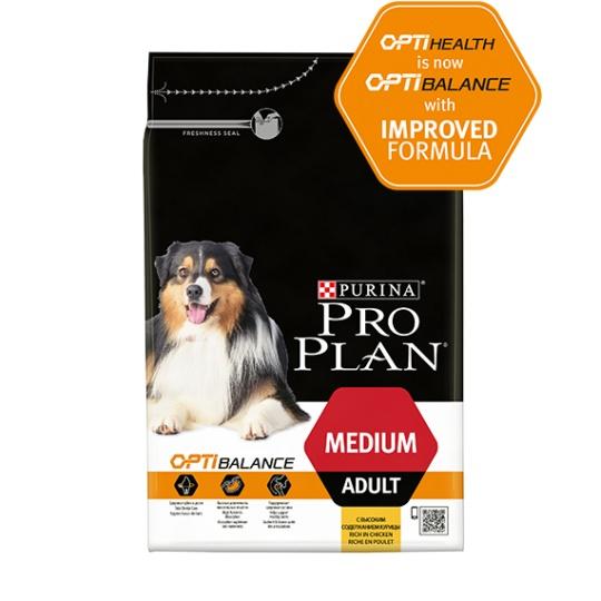 ProPlan MO Dog Opti Health / Opti Balance Adult Medium 14 kg