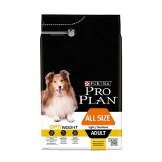 ProPlan All sizes ADULT Light/ Sterislised Optiweight 3 kg