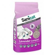 SANICAT LAVENDER COMPACT 5 L hrudkující bentonit s levandulí