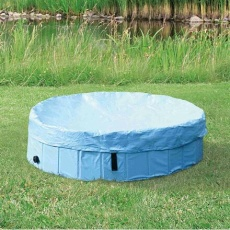 Ochranná plachta na bazén 80 cm kód 39481 sv.modrá