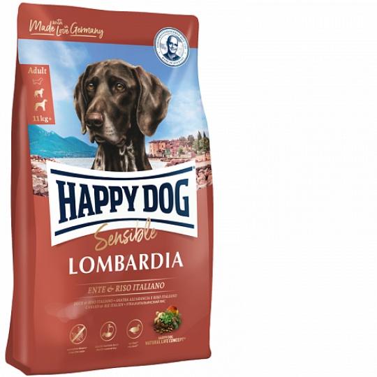 Happy Dog Supreme Sensible Lombardia Kačica & Italská ryža 11 kg  + DOPRAVA ZADARMO