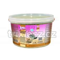 LOLO písek pro činčily v kyblíku 3L 5,1 kg