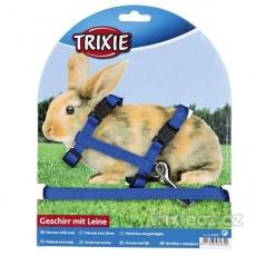 TRIXIE Postroj s vod. pre králíka, rýchlouzávery 25-44/1cm 1,25m