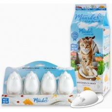 Muuske mliečna mačacia pochúťka 4pack 4x20ml