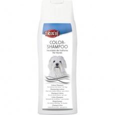 Color šampon-bílý 250ml TRIXIE - pro světlé a bílosrsté psy