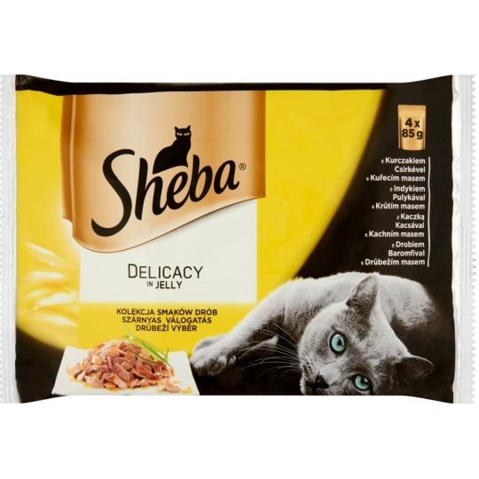 Sheba Delicacy in Jely Hydinový výber 24 x 85 g