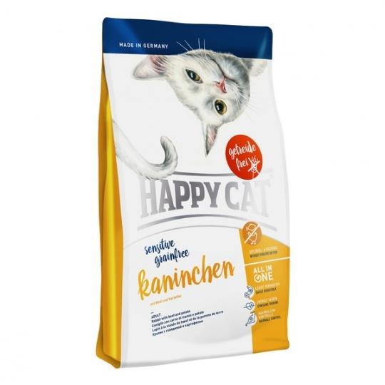 Happy Cat Sensitive Grainfree Kaninchen / Králik  300 g