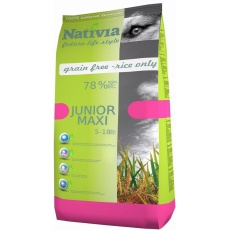 NATIVIA Junior Maxi Chick & Rice 15 kg