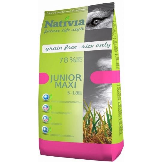 NATIVIA Junior Maxi Chick & Rice 15 kg