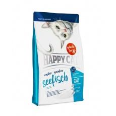 Happy Cat Sensitive Grainfree Seefisch / Morská ryba 4 kg + DOPRAVA ZADARMO