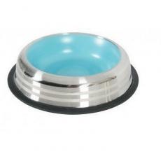 Zolux Miska protišmyková nerezová modrá MERENDA 500 ml