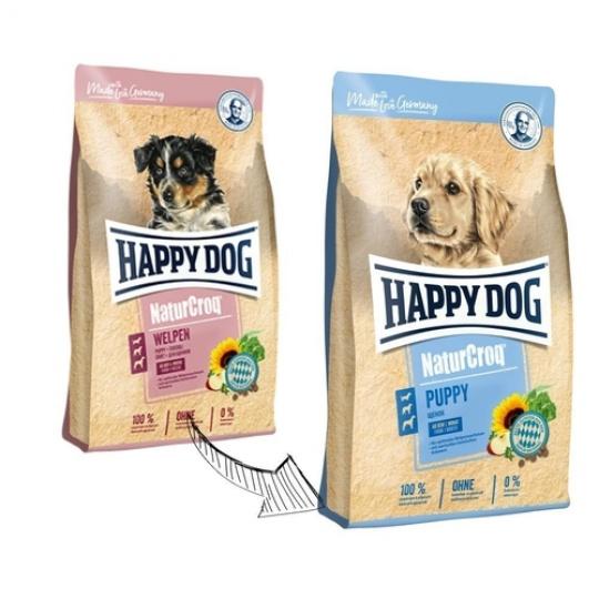 Happy Dog NaturCroq Puppy 15 kg + DOPRAVA ZDARMA