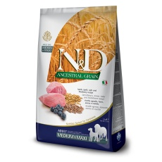 N&D Dog LG Adult Medium & Maxi Lamb & Blueberry 12 kg