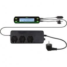 Digitální termostat/hydrostat, tři okruhy 16x4 cm