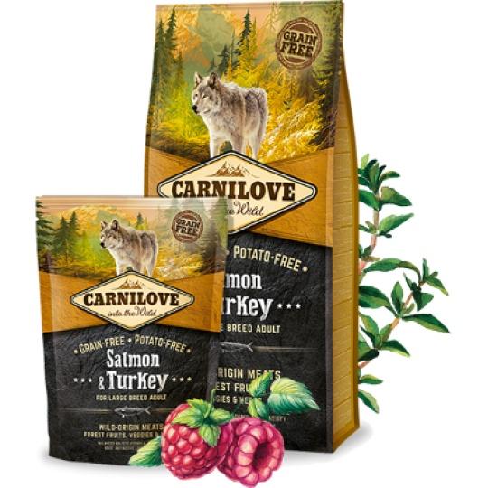 Carnilove Adult Dog Large Breed Salmon & Turkey 1,5 kg
