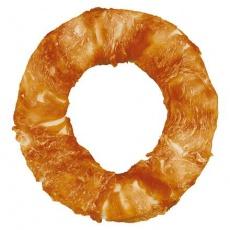 DENTAfun - buvolí kruh obalený kuřecím masem 20 cm/225 g