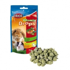 TRIXIE Vitamin Drops se zeleninou pro hlodavce 75g