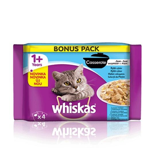 WHSKAS® Casserole rybí výber 4 x 100 g