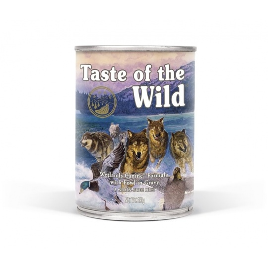 Taste of the Wild konzerva Wetlands Wild Fowl 390 g