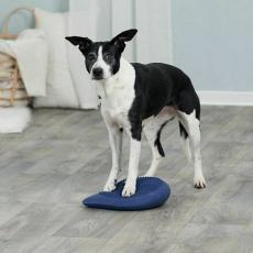 Dog Activity balanční polštář 28 x 4 x 28 cm tmavě modrý - DOPRODEJ