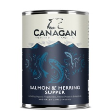Canagan Salmon & Herring Supper 400 g
