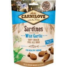 Carnilove Dog Crunchy Snack Sardines&Wild Garlic 200g