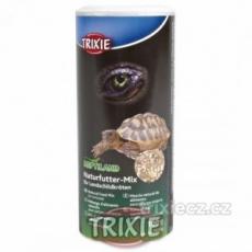 Prírodný mix krmiva pre suchozemské korytnačky 100 g/250 ml