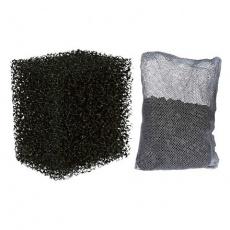 Sada - 2ks filtrační pěna + 1ks aktivní uhlí k M1000 -TRIXIE - DOPRODEJ