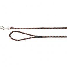 Mountain Rope trekové vodítko 15 m/8 mm černo/oranžové - DOPRODEJ