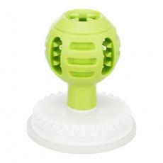 Lick'n'Snack, lízací kulička na krmivo/pamlsky, s přísavkou  ø 8/12 cm × 13 cm, TPE/ABS