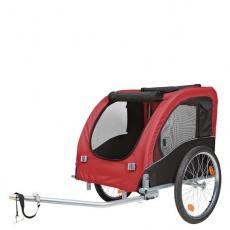 Trixie Vozík pre psa za bicykel L 60x57x80cm do 40 kg červený