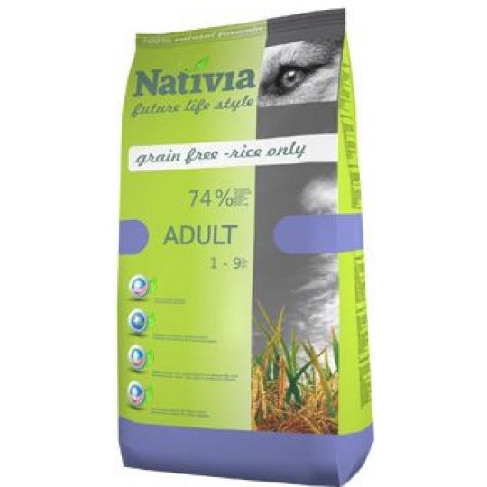 NATIVIA Adult Chicken & Rice 3 kg