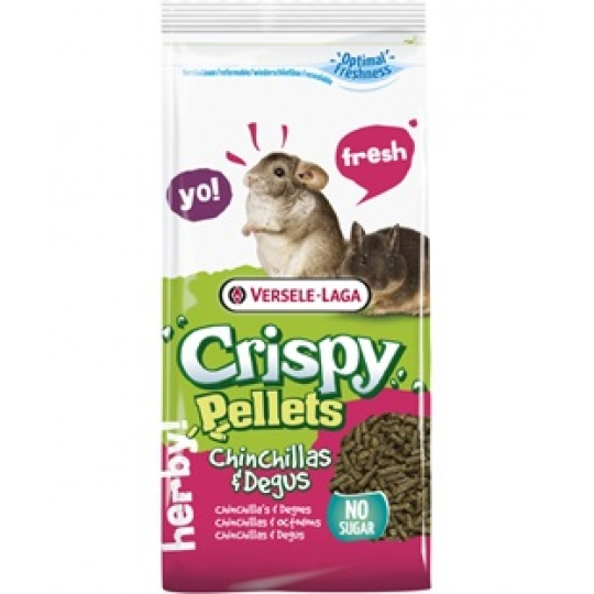 Versele Laga Crispy Pellets Chinchillas & Degus 1 kg