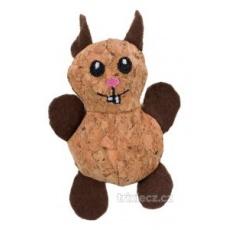 TRIXIE Korková beštia hračka pre mačky 10 cm