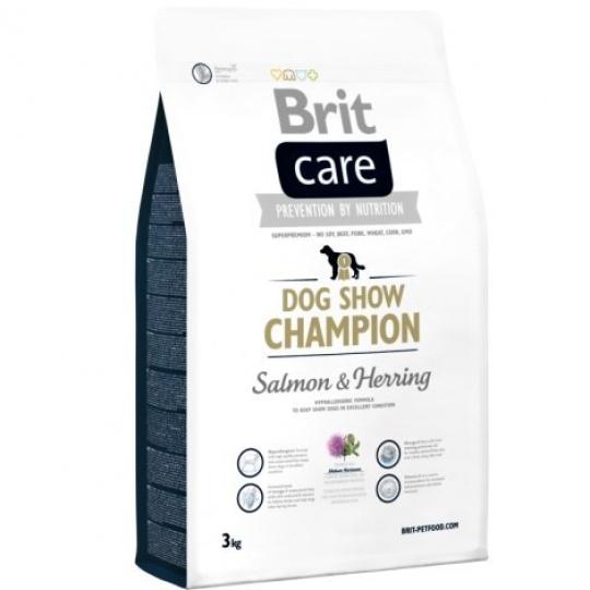 Brit Care Dog Show Champion Losos 3 kg