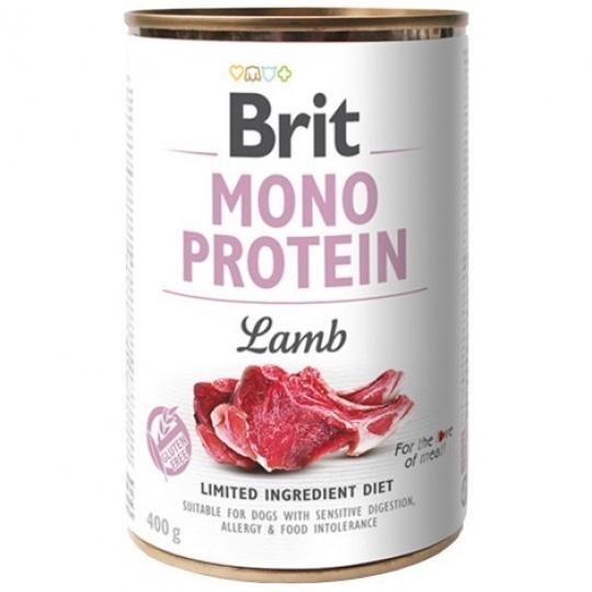 Brit konzerva Mono Protein Lamb 400 g