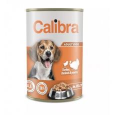Calibra Dog konz.Turk,chick&pasta in jelly 1240g NEW