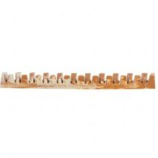 "Denta Fun Veggie Jaw Bone  [50ks] , kost ""čelist"", 22 cm, 85 g"