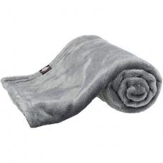 Plyšová deka Kimmy, šedá