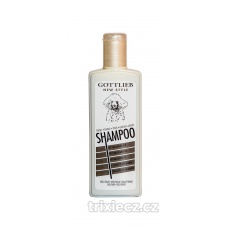 Gottlieb Pudel šampón 300ml-pre čiernych pudlov s makadam.olejom