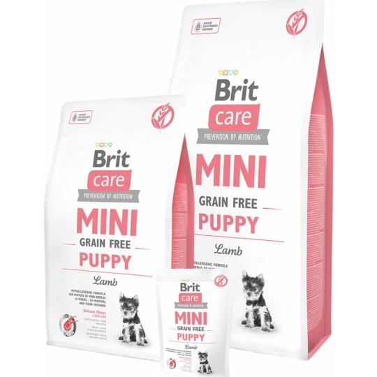 Brit Care Mini puppy Lamb Grain free 7 kg
