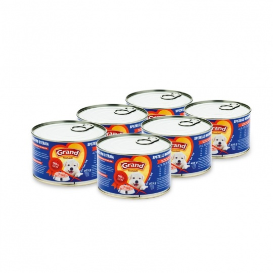 Grand Premium Mix Puppies 6 x 405g