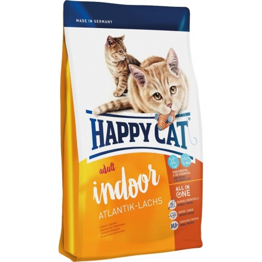 Happy Cat  Indoor Atlantik-Lachs 10 kg  + DOPRAVA ZDARMA