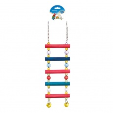 DUVO+ Rebrík s korálkami na klietku pre vtáky 40 cm