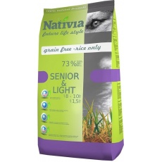 NATIVIA Senior & Light Chick & Rice 3 kg
