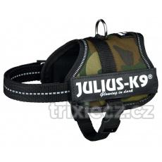 Julius-K9 silový postroj XL/2: 71-96 cm/50 mm - maskáč