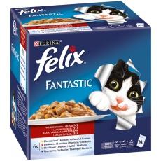 Felix Fantastic multipack Mäsový výber v želé 24 x 100 g