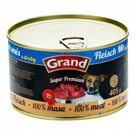 Grand SuperPremium Meat Mix 405 g