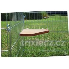 TRIXIE Natural Living rohová platforma 28 x 28 cm